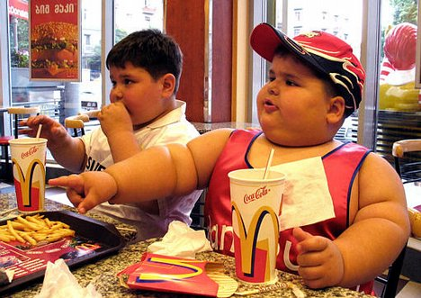 children-fast-food